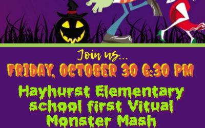 Virtual Halloween Celebration – Hayhurst Virtual Monster Mash